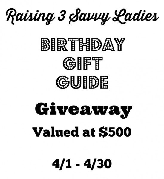 Birthday Gift Guide Giveaway