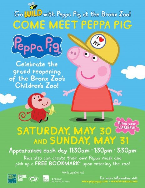 Peppa at Bronx Zoo