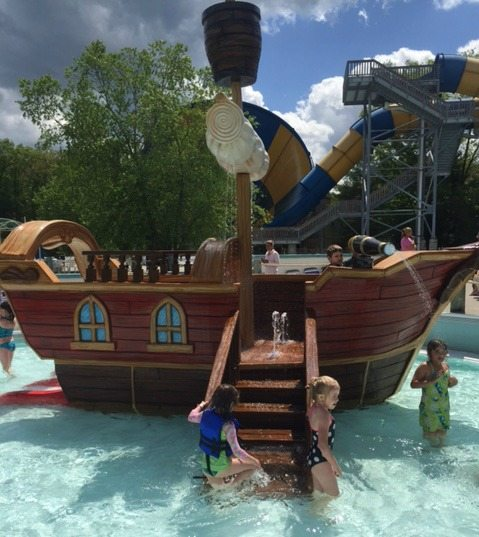 Pirate Ship Buccaneer Beach