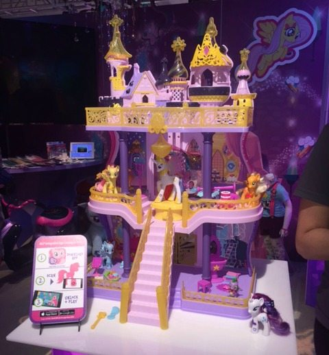 My Little Pony Castle and App