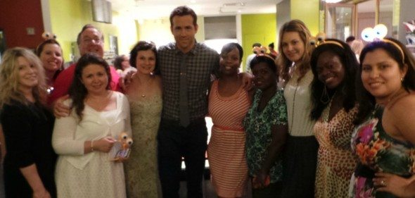 Ryan Reynolds and Bloggers