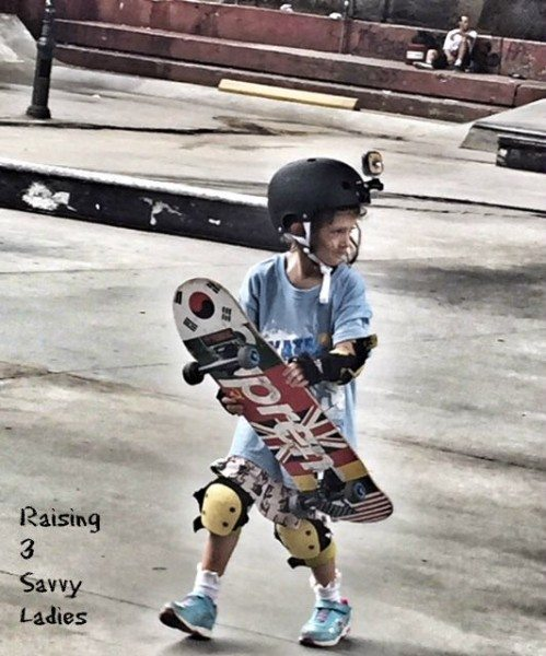 a skateboarding kids kidizoom
