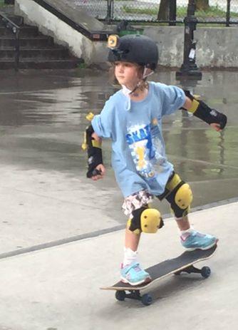 a skateboarding vtech kidizoom event