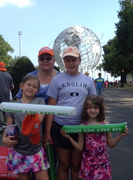 US Open Raising 3 Savvy Ladies