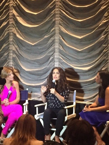 Salma Hayek & The Moms #HayekMoms