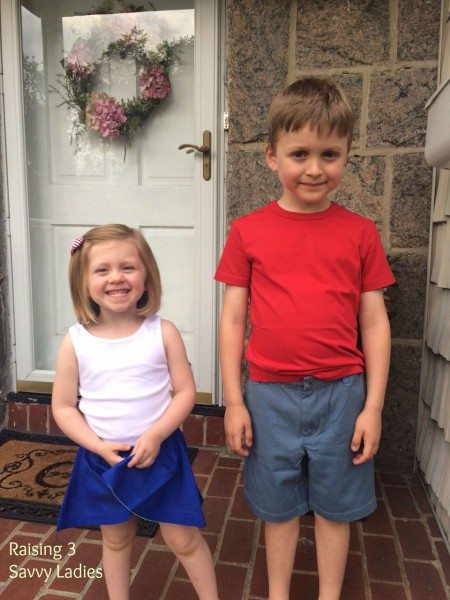 a Primary clothing for children