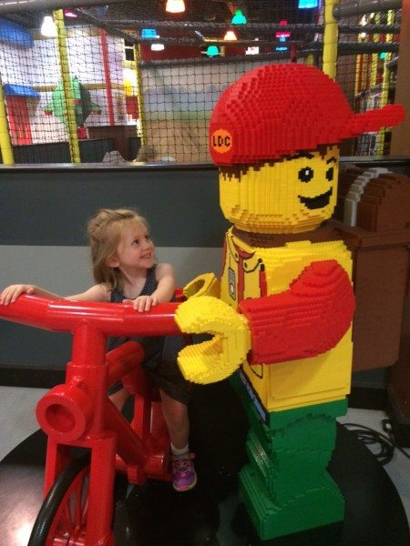 I love how the kids feel like they're in a real life Lego movie!