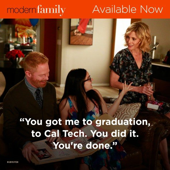 Modern Family Available on DVD