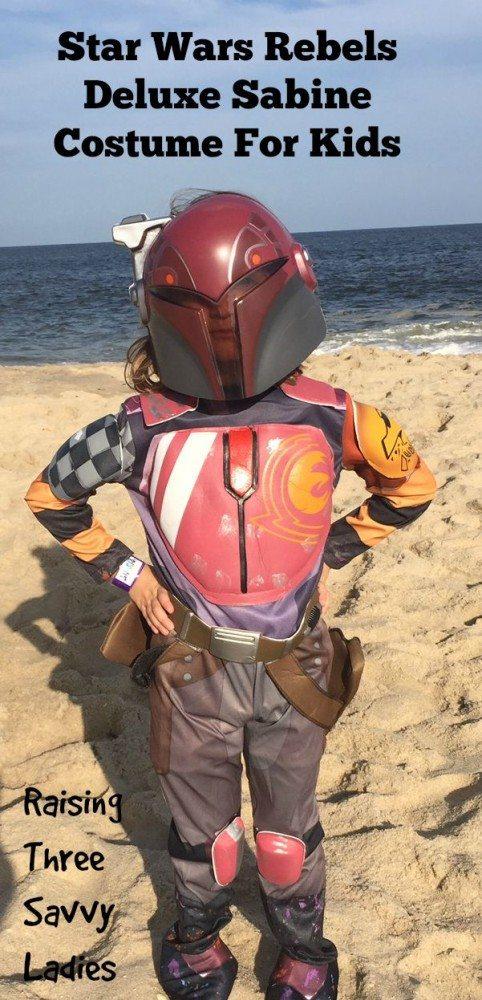Star Wars Rebels Deluxe Sabine Costume For Kids