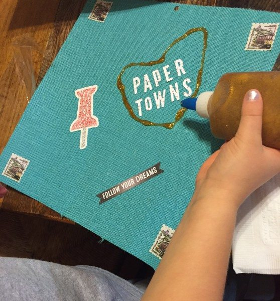 PaperTowns Scrapbook party