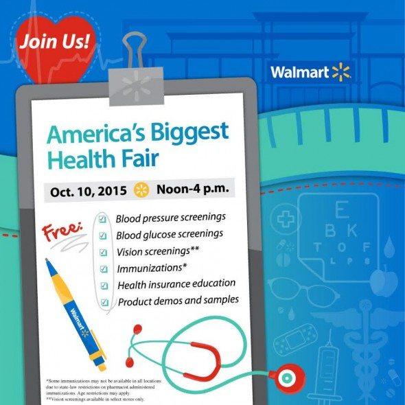 Walmart Health Fair