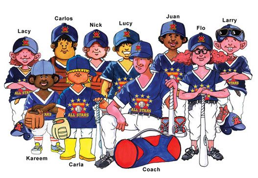 The Hometown All Stars Team