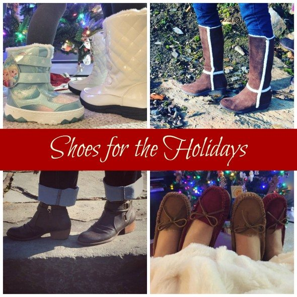 Famous Footwear Collage