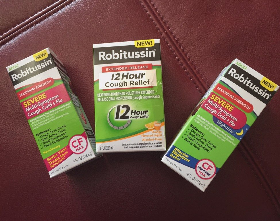 Robitussin products