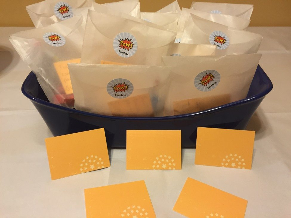 Clear Party favor bags