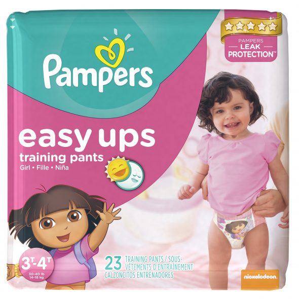 Pampers Easy Ups Girls