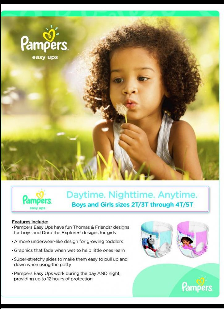 Pampers Easy Ups Twitter Party