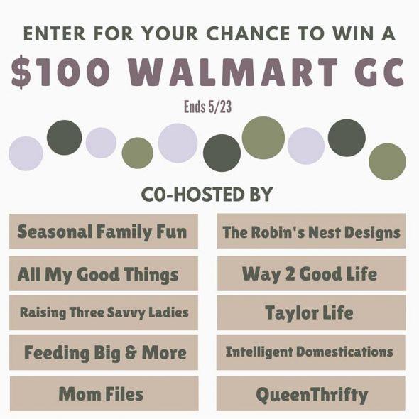 100 walmart giveaway