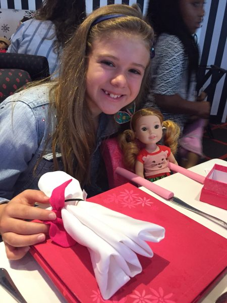 American Girl Cafe NYC