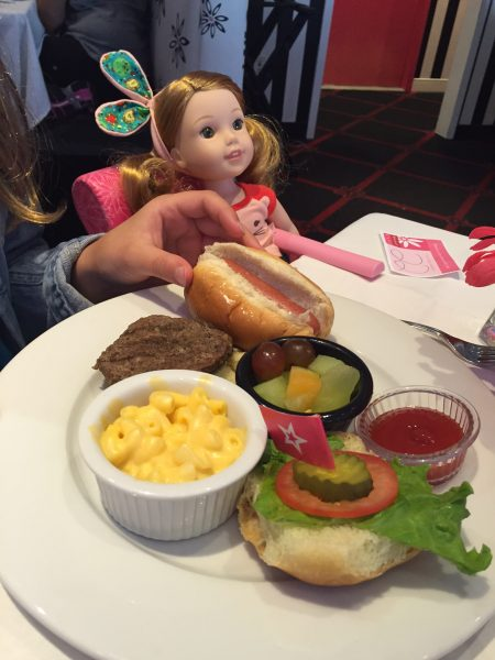 American Girl Lunch in NYC