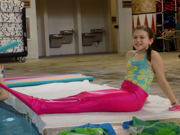 Mermaid Lessons at Kalahari