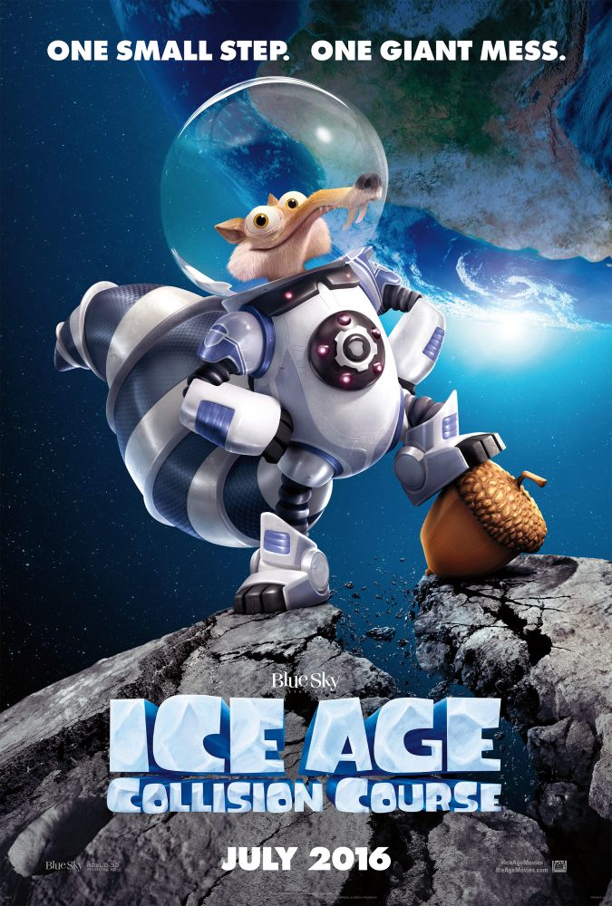 IceAge Collision Course Poster
