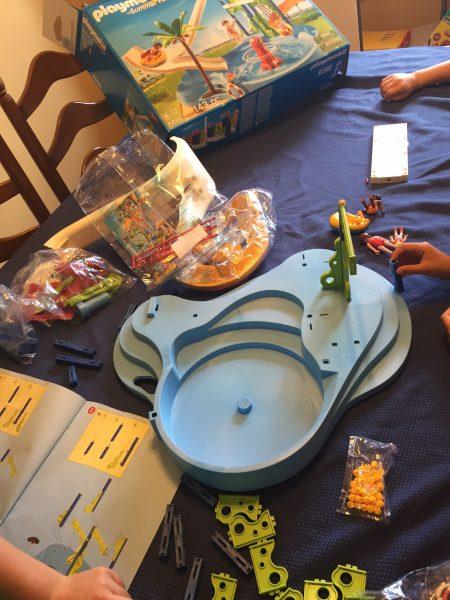 Playmobil Water Play setup