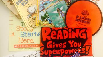 Scholastic Book Giveaway