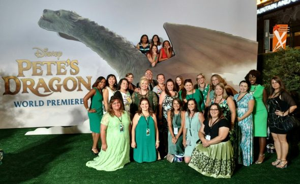 #PetesDragonEvent Bloggers