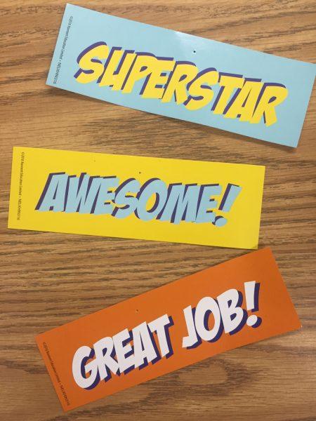 Teacher Rewards Kit bookmarks