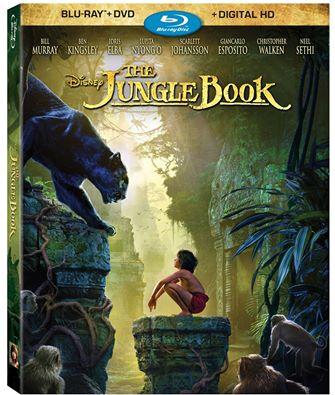 The Jungle Book Blu-Ray DVD