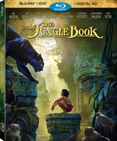 The Jungle Book BluRay