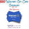 Walmart 100 gift card