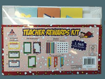 teacher rewards kit back