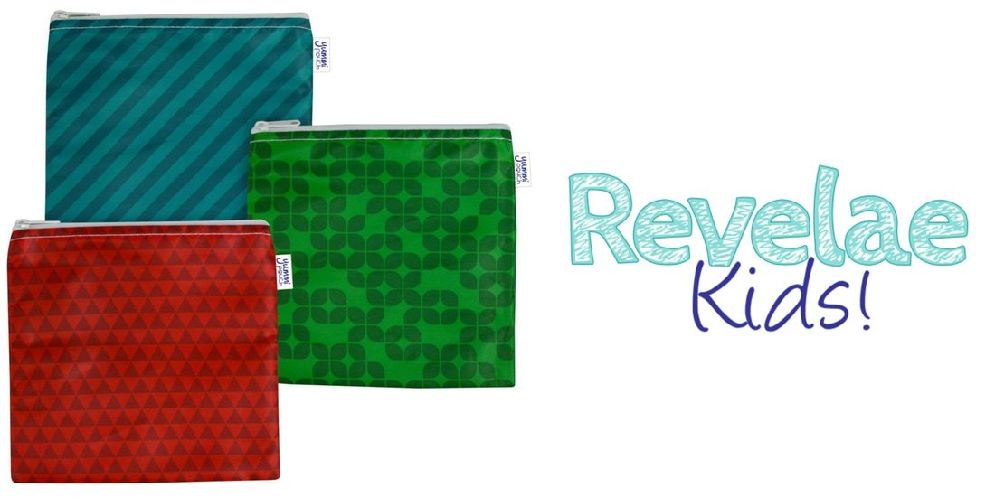 Win a 3-pack of Revelae Kids' cloth sandwich bags in US Japan Fam's Spring Goodies for the Kiddies Giveaway!