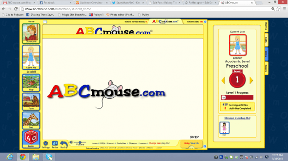 Win A Full Year Subscription To Abcmouse Com