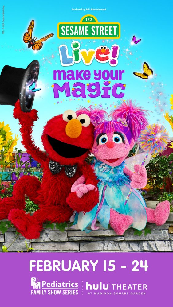 Win Tickets To The Sesame Street Live Show At The Hulu Theater In Madison Square Theater